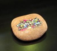 tisk na rečni kamen