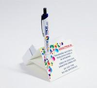 unikatno poslovno darilo namizno drzalo za papirčke in pisalo