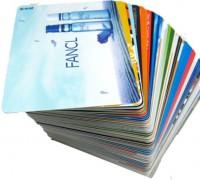 uv led tisk na plastične kartice