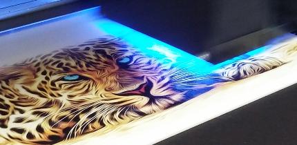 Povezava na UV LED tisk